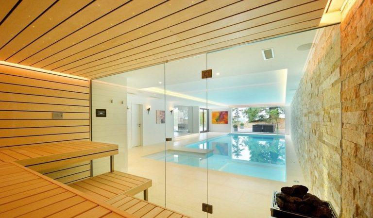dizajn sauny s bassejnom foto 768x449 - Бани