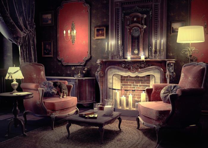 Викторианский - интерьер  - всефото.рф