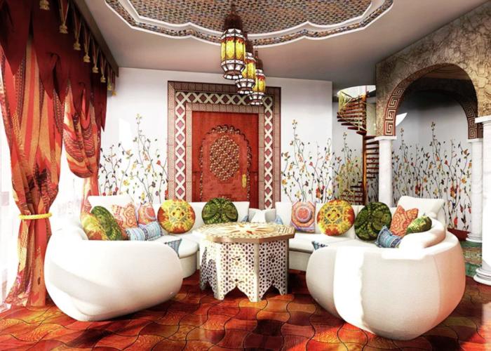 Марокканский - интерьер  - всефото.рф