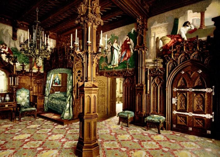 Замок - интерьер  - всефото.рф